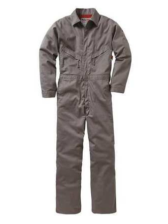 Industrial Coverall, XL, Navy