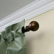 "Mainstays Orb Ball Curtain Rod, 30""-84"""