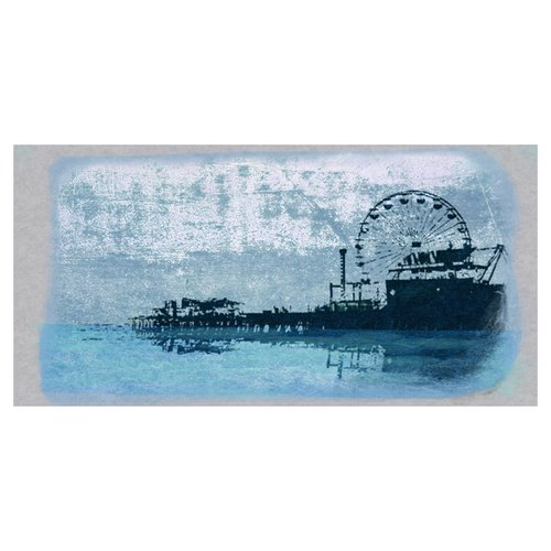 PTM Pier Print of Painting on Canvas