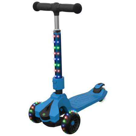 The Jetson Kids (Jetson Saturn Kids 8+ Lean-to-Steer Kick Scooter with LED)