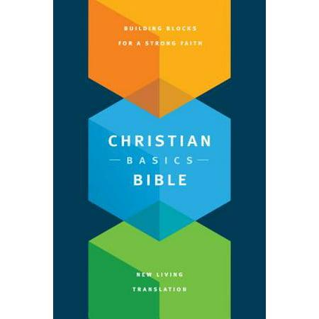 Christian Basics Bible NLT (Softcover) - Christian Bible Tracts Halloween