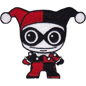 Patch - DC Comics - Harley Quinn Doll Iron On Licensed p-dc-0125 (Iron Dolls)