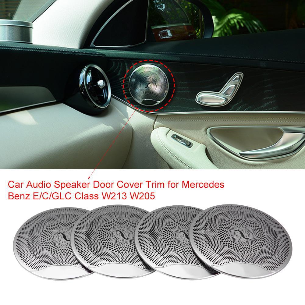 E//C//Glc Class W213 W205 Matte SODIAL Car Audio Speaker Cover Door Speaker Cover For Mercedes