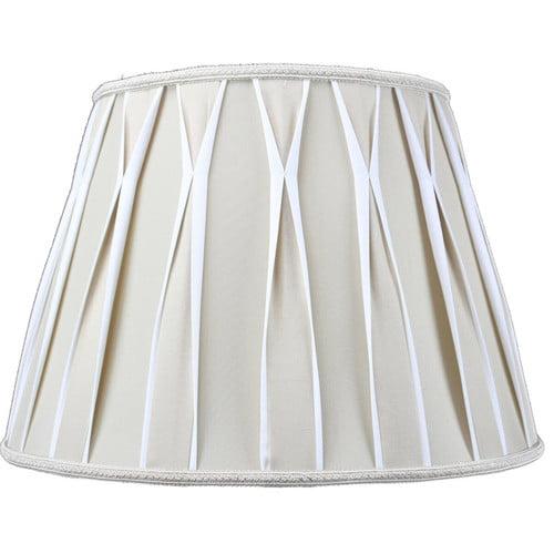 Home Concept Inc Classics Brass 16'' Shantung Empire Lamp Shade