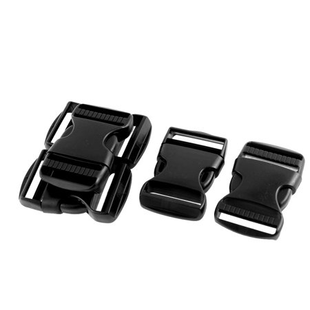 Luggage Case Backpack Plastic Side Quick Release Buckle 5pcs for 37mm Strap - image 2 of 2