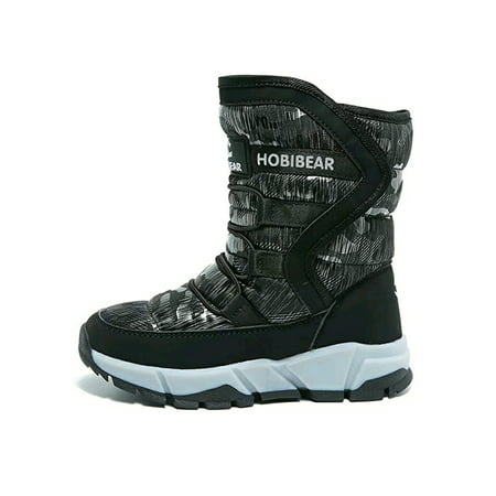 Snow Boots for Boys and Girls Waterproof Boots Warm and Lightweight Shoes (Toddler/Little Kid/Big Kid)