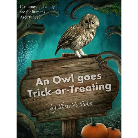 Halloween Places To Go Trick Or Treating (An Owl Goes Trick-or-Treating -)