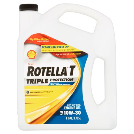 Shell Rotella T Triple Protection 15W-40 Heavy Duty Diesel Engine Oil  1Gallon