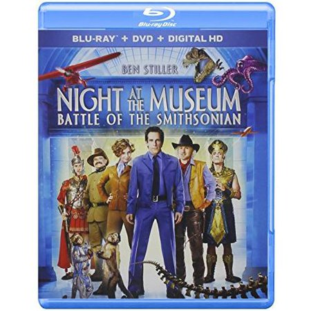 Night At The Museum: Battle Of The Smithsonian (Blu-ray + DVD + Digital HD) (Widescreen)