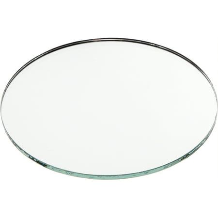 No Bevel Glass Mirror, Round 3mm- 4
