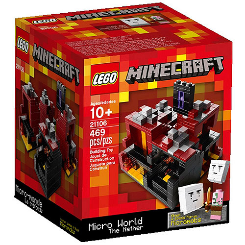 Lego Minecraft Micro World The Nether Building Set by LEGO Systems, Inc.