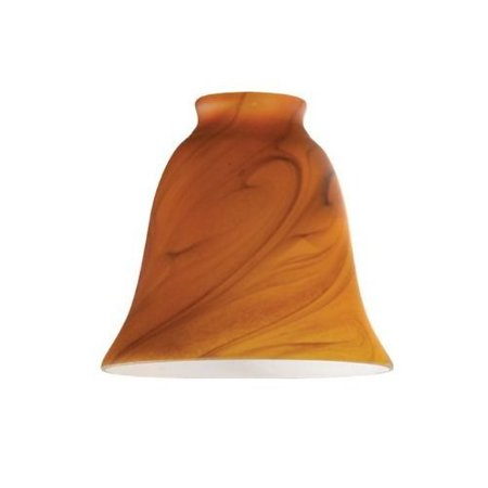 Westinghouse Lighting 8136300 Burnt Umber Glass Ceiling Fan Light Shades, Must Purchase in Quantities of 6 - Quantity 4