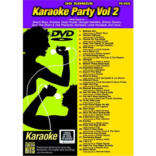 Forever Hits Karaoke Party, Volume 2