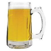 Tankard Beer Mug, Glass, 12 oz, Clear by Anchor