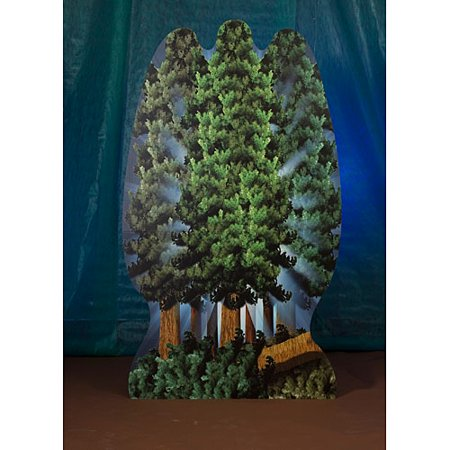 8 ft. 3 in. Moonlight Tree Standee](Cardboard Tree)