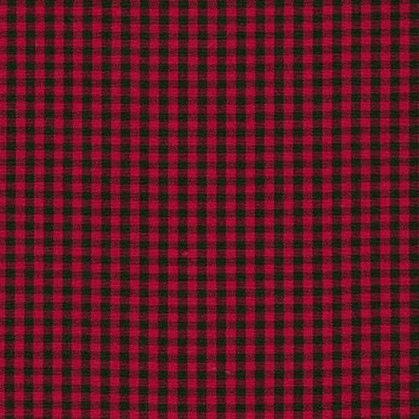 Robert Kaufman Carolina Gingham Check One Eighth Inch Scarlet