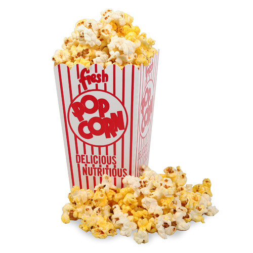 Great Northern Popcorn Movie Theater Popcorn Box with Open Top