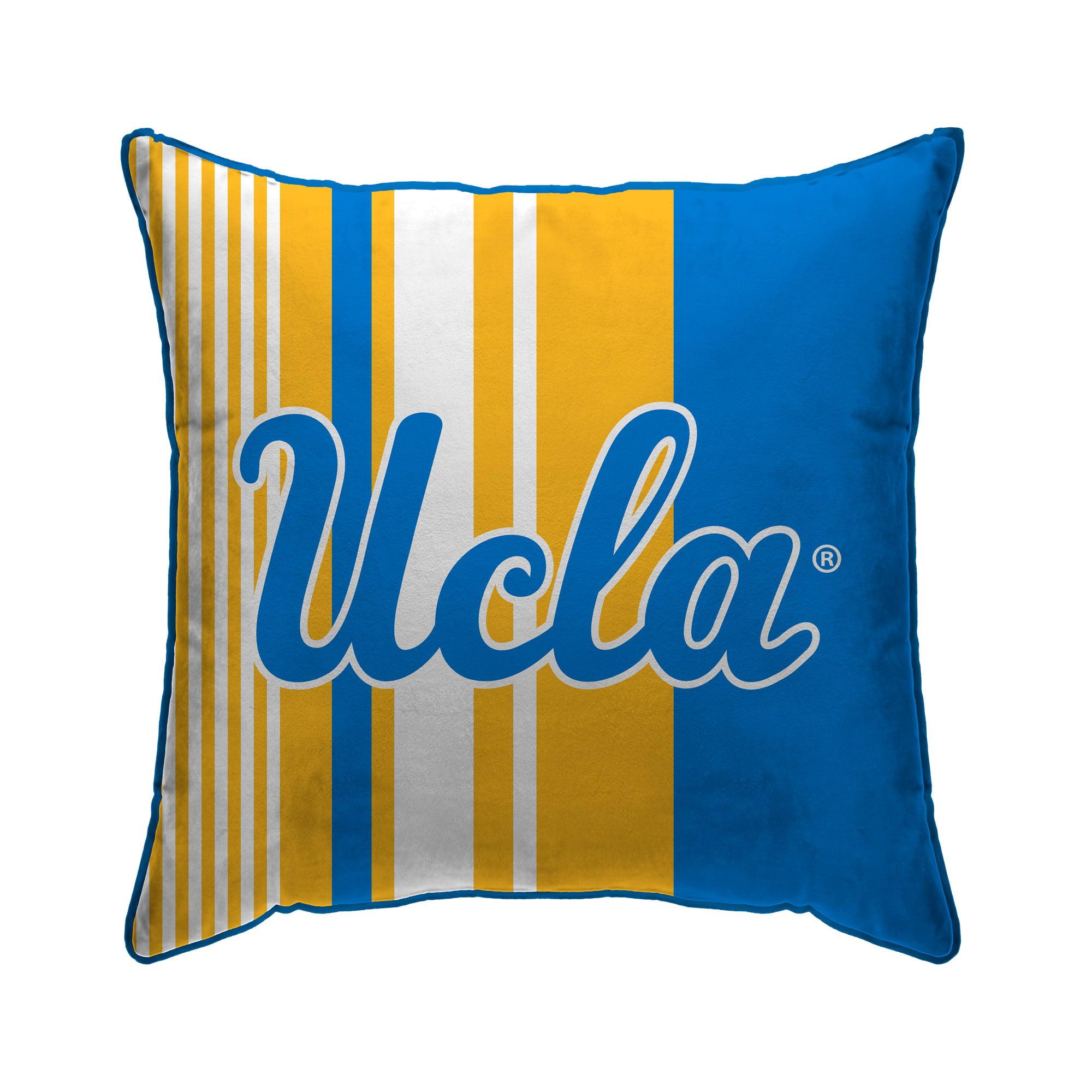 UCLA Bruin blanket.