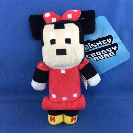 Moose Toys - Disney Crossy Road SERIES1 6 inch Stuffed Figure POLKA DOT MINNIE](Stuffed Moose Toy)