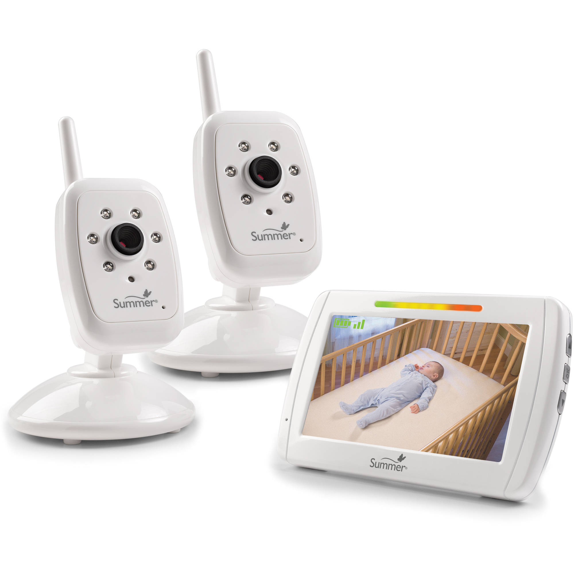 Summer Infant In View Duo, Video Baby Monitor, Bonus Camera