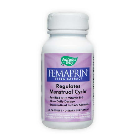 Nature's Way Femaprin Vitex Extract Capsule, 60 Count (Extract Natures Way)