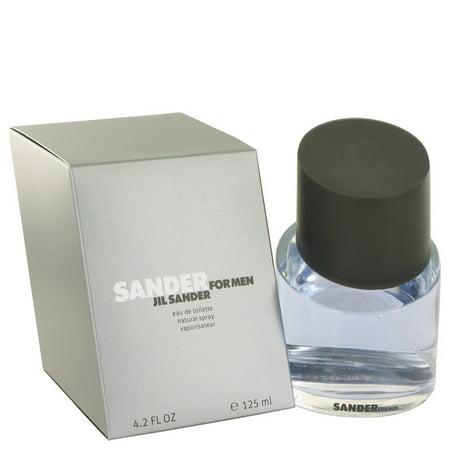 Jil Sander Sander Eau De Toilette Spray for Men 4.2