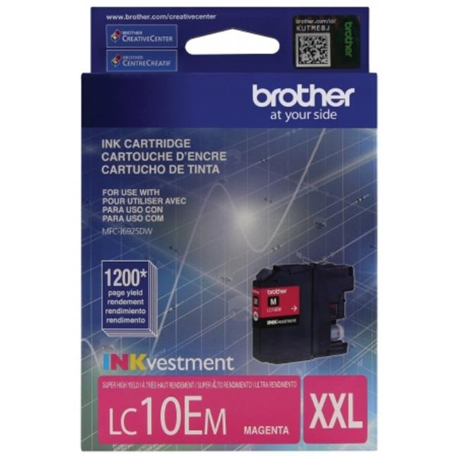 Brother International LC10EM Innobella Super High-Yield Ink, Magenta