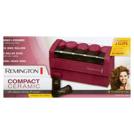 Remington Compact Ceramic Hot Rollers  10 Count