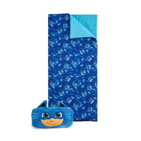 PJ Masks Nap Mat with BONUS carry bag (Nap All Day Sleep All Night Party Never)