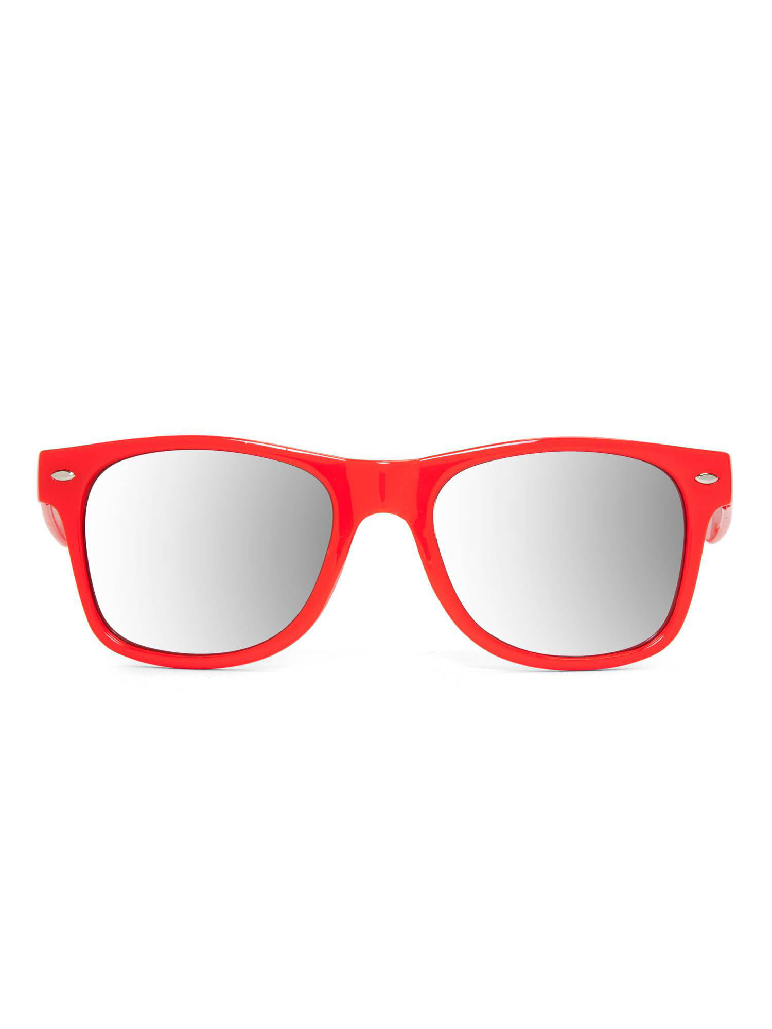 70e02ec73c6d Solid color horn rimmed style mirror lens sunglasses red jpg 1500x2000 Red  rimmed glasses