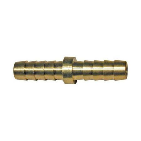 69 Hose Polished Brass - 21433 0.31 in. ID Brass Hose Mender