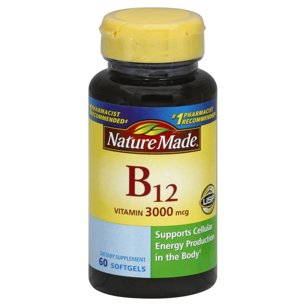 Nature Made Nutritional Products Nature Made  Vitamin B12, 60 ea