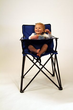 ciao baby portable travel highchair blue. Black Bedroom Furniture Sets. Home Design Ideas