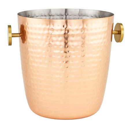 """Aura"" Hammered Copper Champagne Bucket, 5 Qt.](Copper Buckets)"