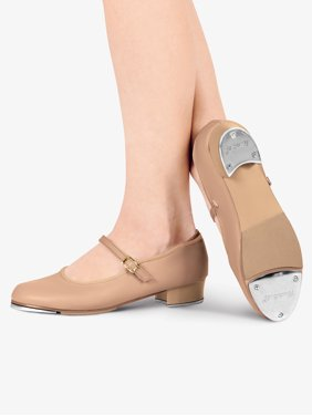 "Girls ""TapRite"" Molded Tap Slide Buckle Tap Shoes"