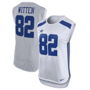 Jason Witten Dallas Cowboys Nike Women's Player Name & Number Sleeveless Top - White