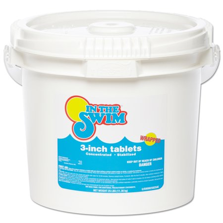 In The Swim 3 Inch Pool Chlorine Tablets 25 lbs.