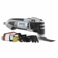 Dremel MM40-05 Multi Max 3.8 Amp Corded Variable Speed Oscillating Tool Kit with 35 Accessories and Storage Case
