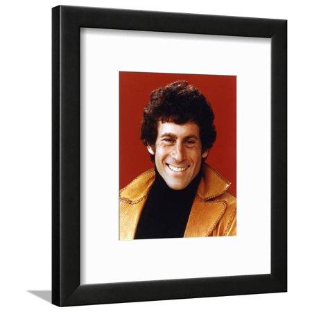 Paul Glaser Portrait in Brown Leather Jacket Framed Print Wall Art By Movie Star News (Klare Gläser Frames Amazon)