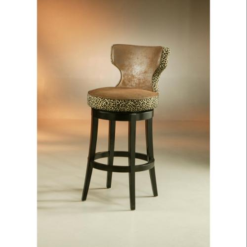 Augusta Counter Stool-Upholstery:Wrangler with Leopard