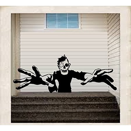 Halloween Scary Monsters (HALLOWEEN DECOR ~ SCARY MONSTER ~ HALLOWEEN: WALL OR WINDOW DECAL, 13