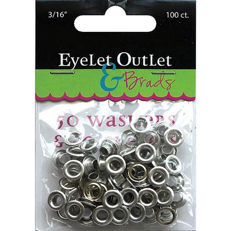 (Eyelet Outlet Eyelets and Washers, 3/16