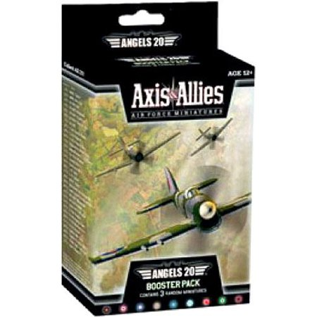 Axis & Allies Air Force Miniatures Angels 20 Booster Pack - Miniature Force Sensor