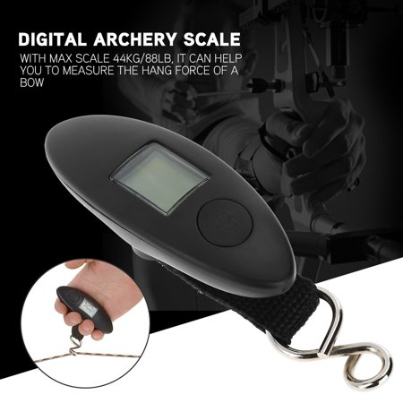 Anauto Archery Portable Digital Handheld Bow Hang Scale 88lbs Tool for Compound and Recurve Bow,Bow Scale, Digital Bow Scale thumbnail