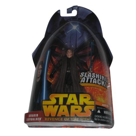 Star Wars Revenge of The Sith Anakin Skywalker Lightsaber Attack Figure](Anakin's Blue Lightsaber)
