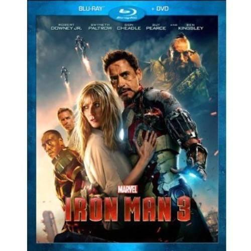 IRON MAN 3 (BLU-RAY/DVD/2 DISC COMBO)