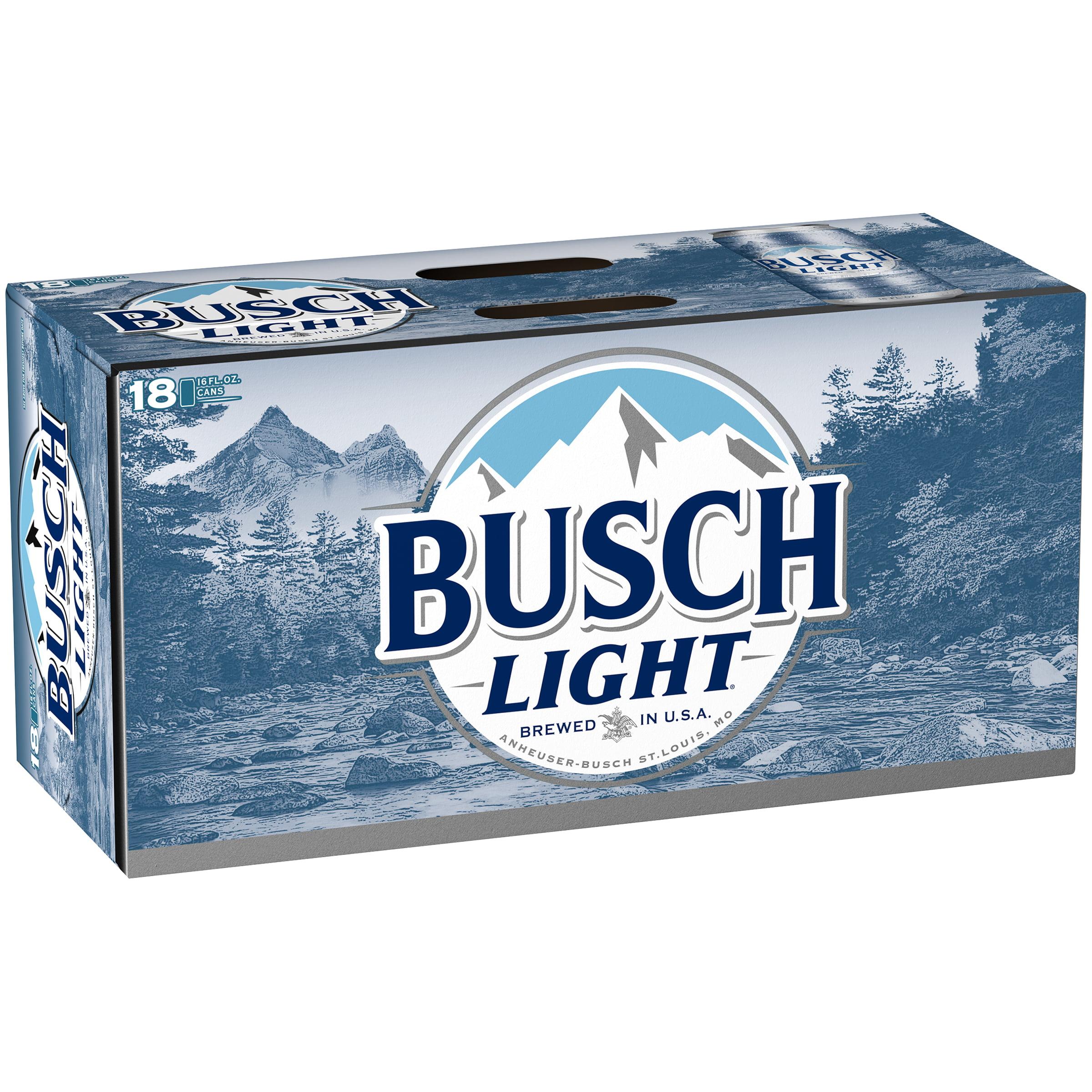 Busch Light® Beer, 18 Pack 16 fl. oz