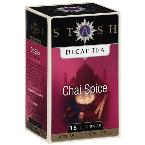 Stash Chai Spice Decaf Tea Bags, 18 count