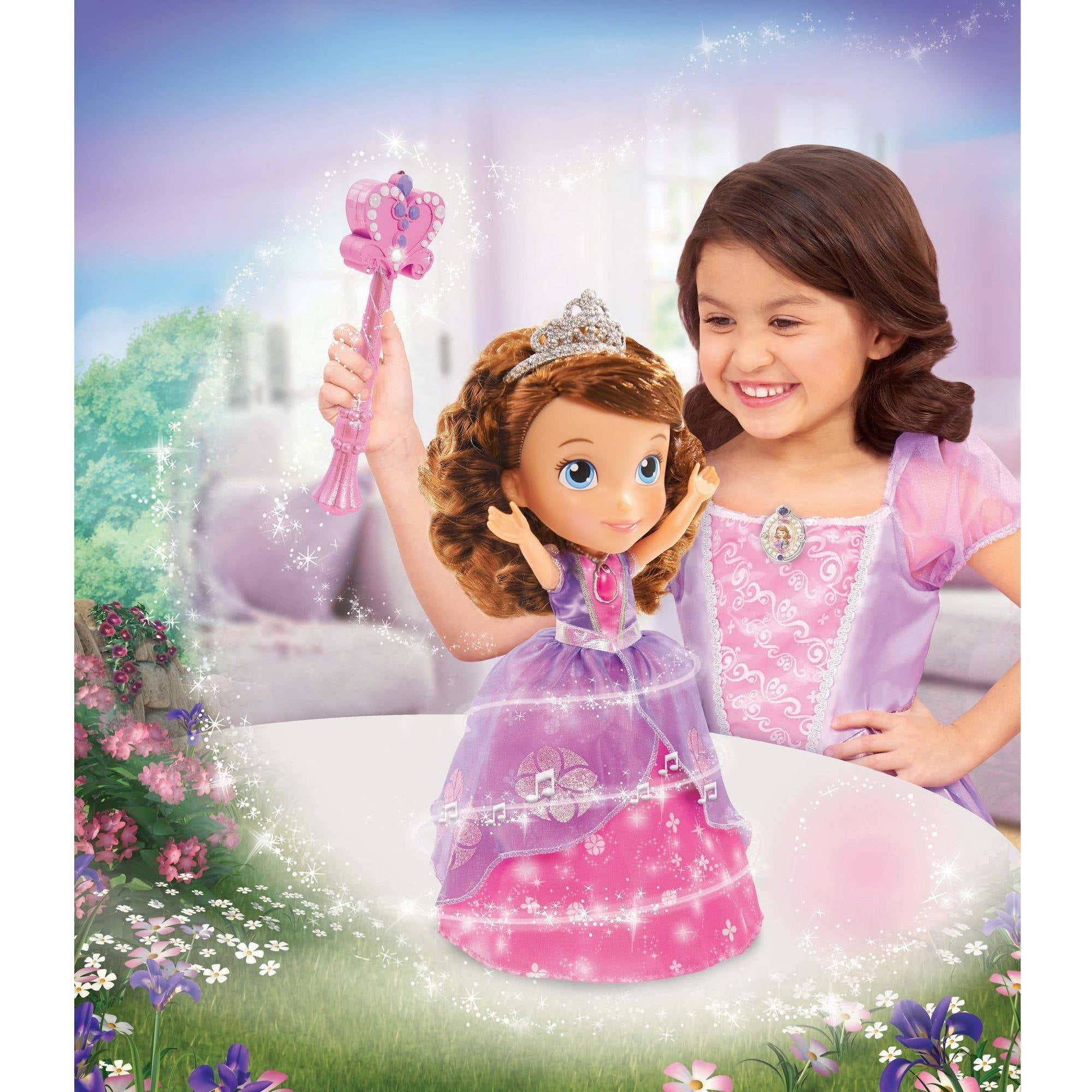 Disney Sofia The First Magic Dancing Sofia Walmart Com