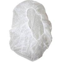 Genuine Joe, GJO85140, Nonwoven Bouffant Cap, 100 / Pack, White